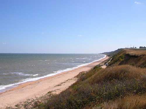 Поселок Пересыпь Азовское море