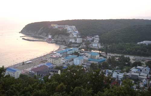 Новомихайловский на черном море